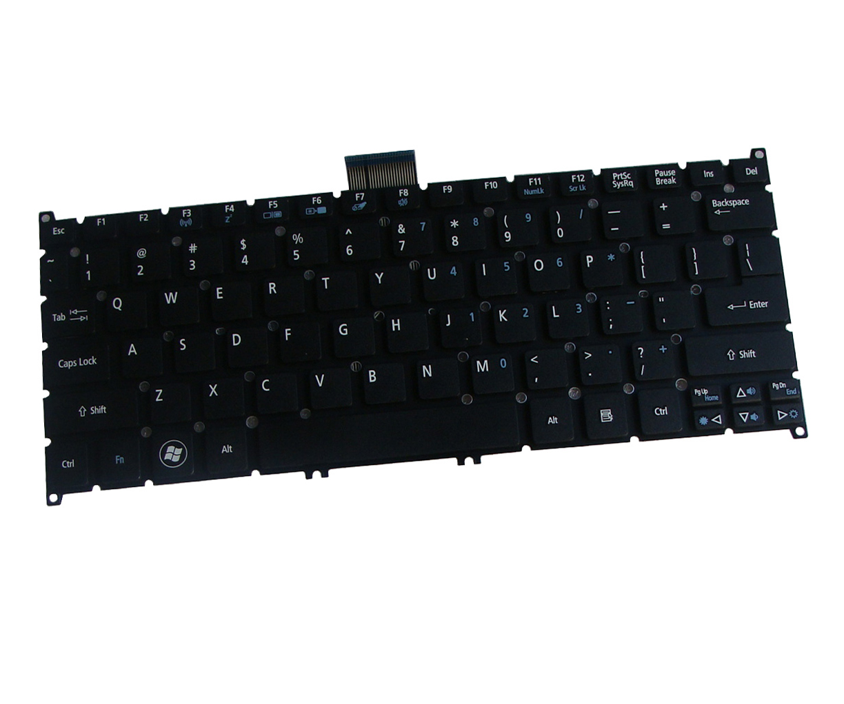 Laptop Us Keyboard For Acer Aspire V5 123 3466 V5 123 3634