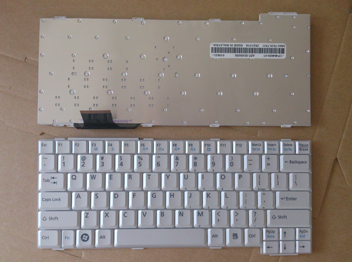 Laptop us keyboard for Fujitsu Lifebook T700 T731 T730