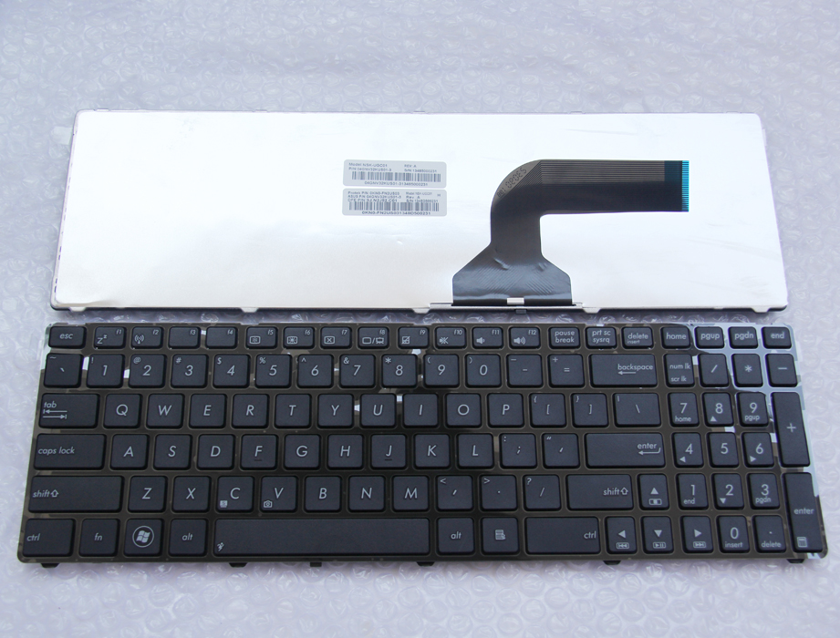 Laptop us keyboard for ASUS X75VC